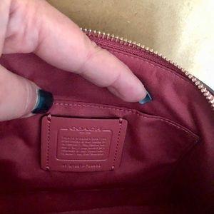 Coach Bags - COACH Ostrich Bag Sirra Leather Gorgeous Color